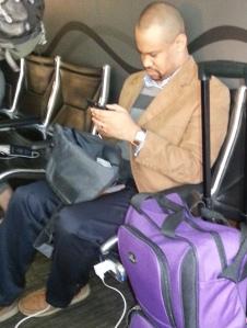 20131228 Rod at airport