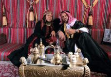 The Sheikh and the Shaykhah require further refreshment.
