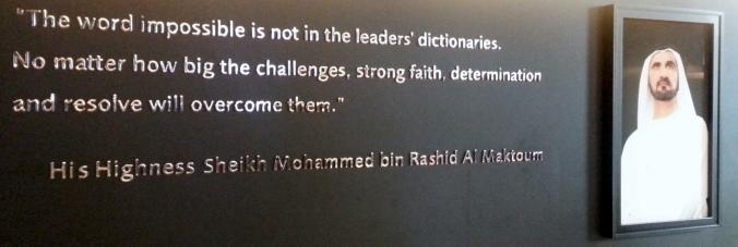 His Highness Sheikh Mohammed bin Rashid Al Maktoum