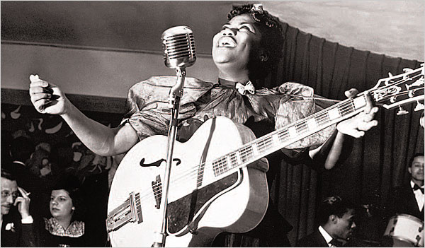 ister Rosetta Tharpe at Cafe Society
